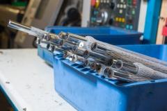 Turned rod parts